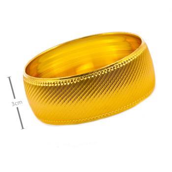 3 cm Altın Kaplama Bilezik