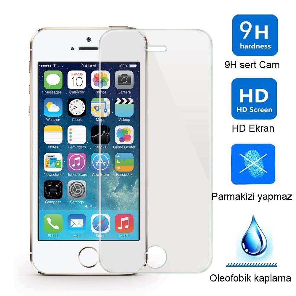 iPhone X Kırılmaz Cam Ekran Koruyucu