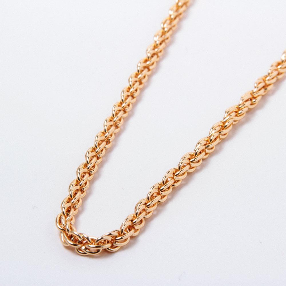 Altın Kaplama Zincir Kolye (60cm)