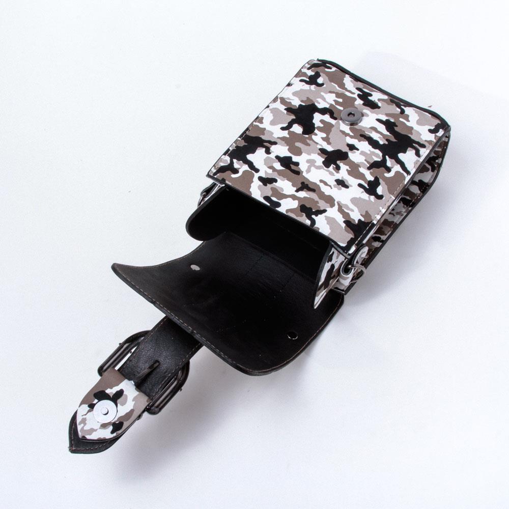 Kamuflaj Figürlü Çanta