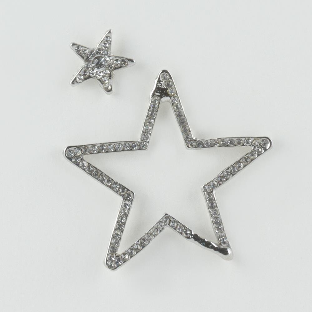 Yıldız Taşlı Küpe