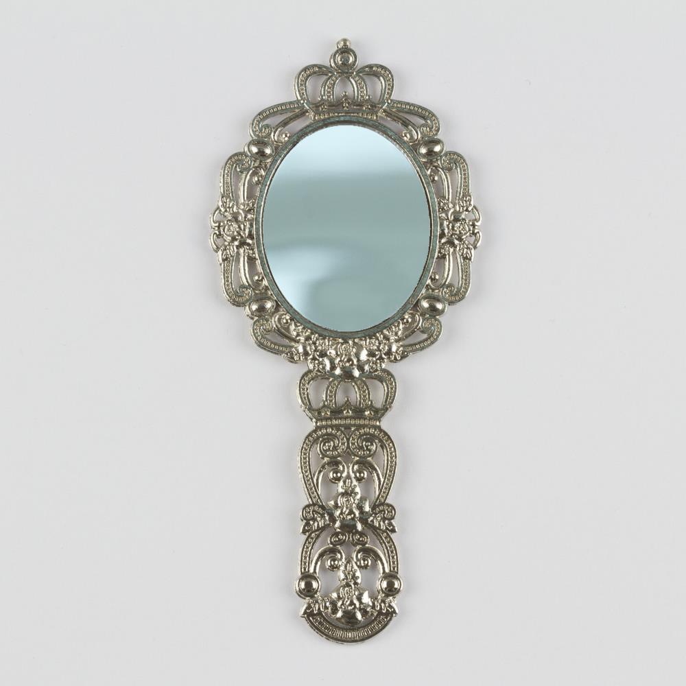 Oval Metal Ayna (El Aynası)