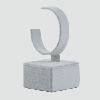 Anfora Kumaş Kaplamalı Saat Standı