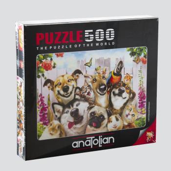 Anatolian Dostlarla Selfie 500 Parça Puzzle (3584)
