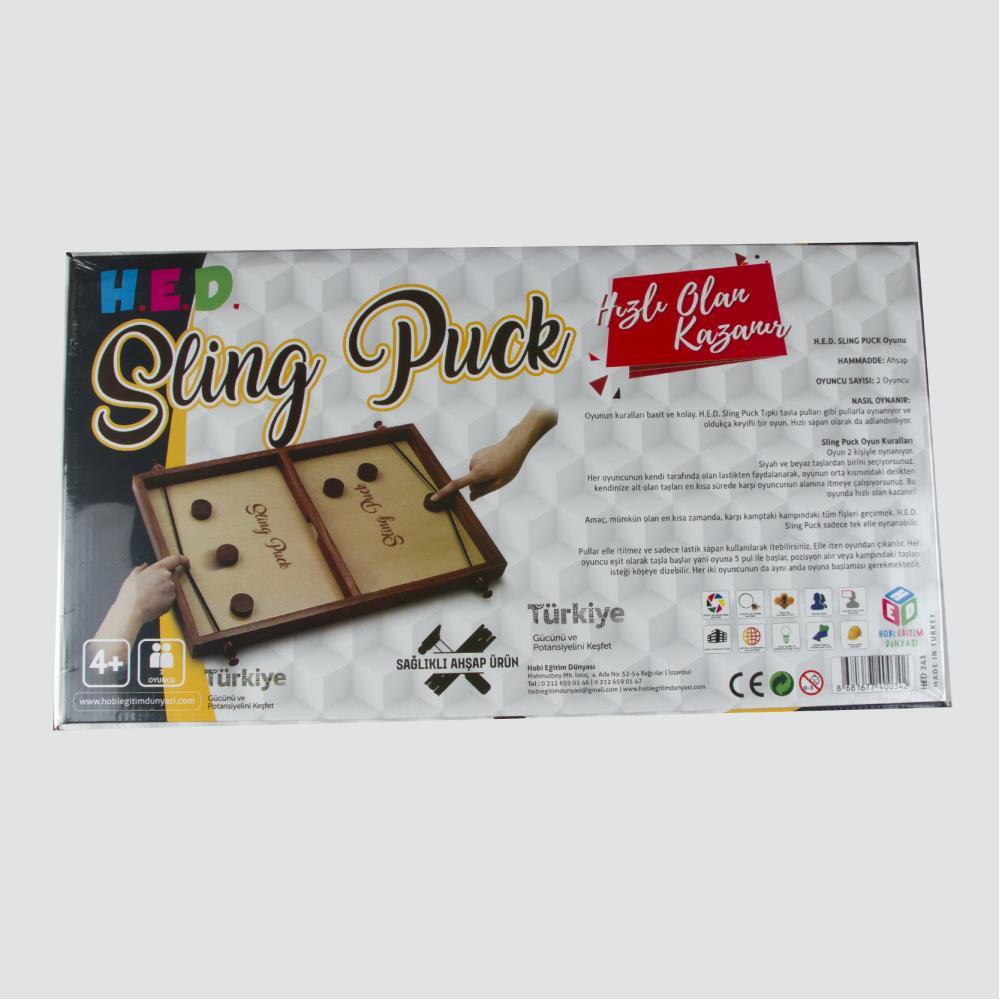 Sling Puck Oyunu  ( Hızlı Sapan - Şut ve Gol  )
