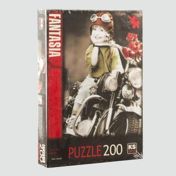 Fantasia Puzzle 200 Parça KS Games