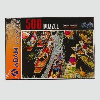 Tayland Bangkok 500 Parça Puzzle