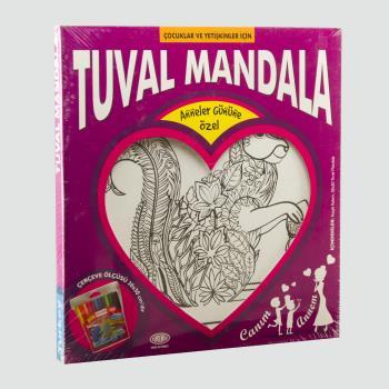 Sincap Figürlü Kumtoys Tuval Mandala