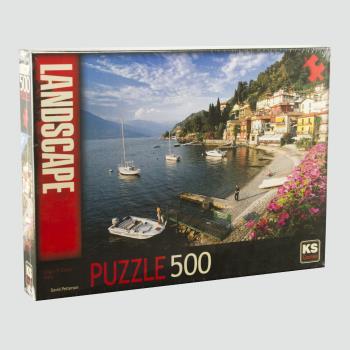 Lago Di Como İtalya Manzara 500 Parça Puzzle KS Games
