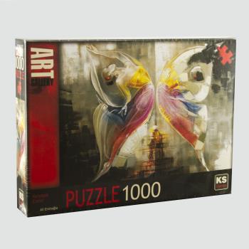Kelebek Etkisi 1000 Parça Puzzle KS Games