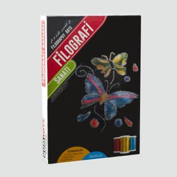Kelebek Figürlü KumToys Filografi Sanatı FG-05