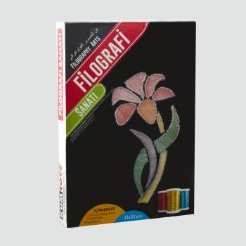 Çiçek Figürlü KumToys Filografi Sanatı FG-04