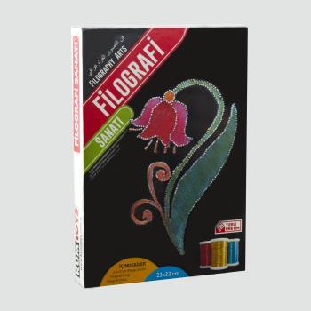 Çiçek Figürlü KumToys Filografi Sanatı FG-06