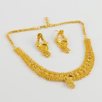 Altın Kaplama Set Kolye