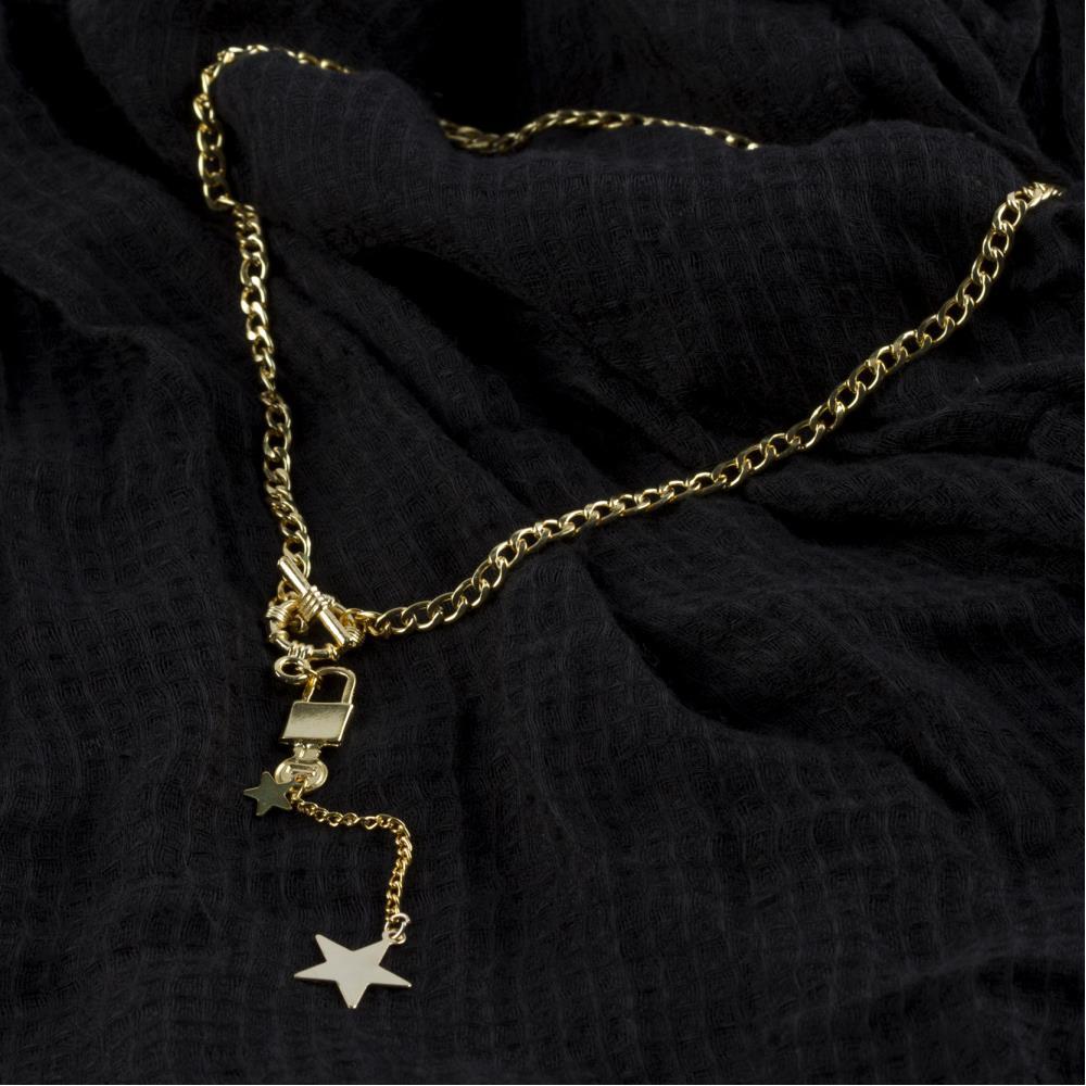 3'lü Anahtar Yıldız Figürlü Kolye