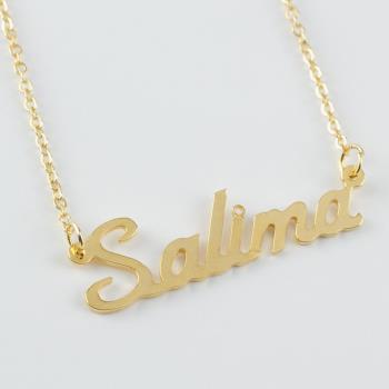 Salima İsimli Kolye