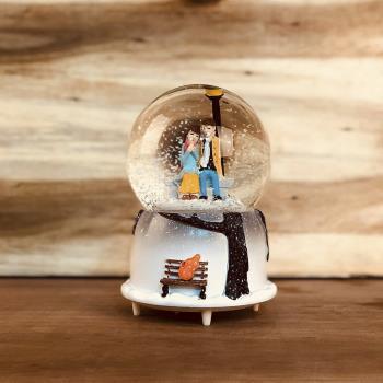 SEninle Bir Ömür Pilli Müzikli Işıklı Kar Küresi (Orta Boy)