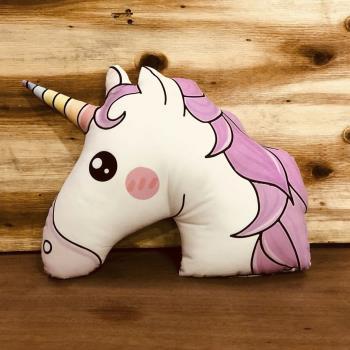 Unicorn Figürlü Polar Yastık