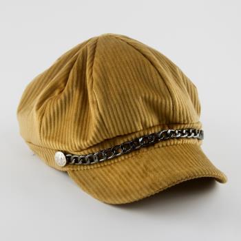 Kadife Kaşe Şapka