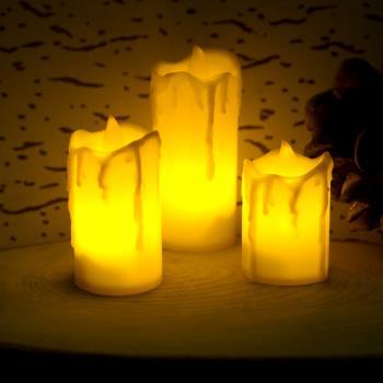 3'lü Pilli Gece Lambası