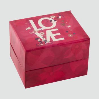 Love Yazılı Saat Kutusu