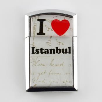 İstanbul Yazılı Taşlı Çakmak