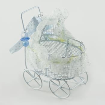 Bebek Arabası Figürlü Biblo