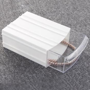 Beyaz Plastik Çekmeceli Kutu