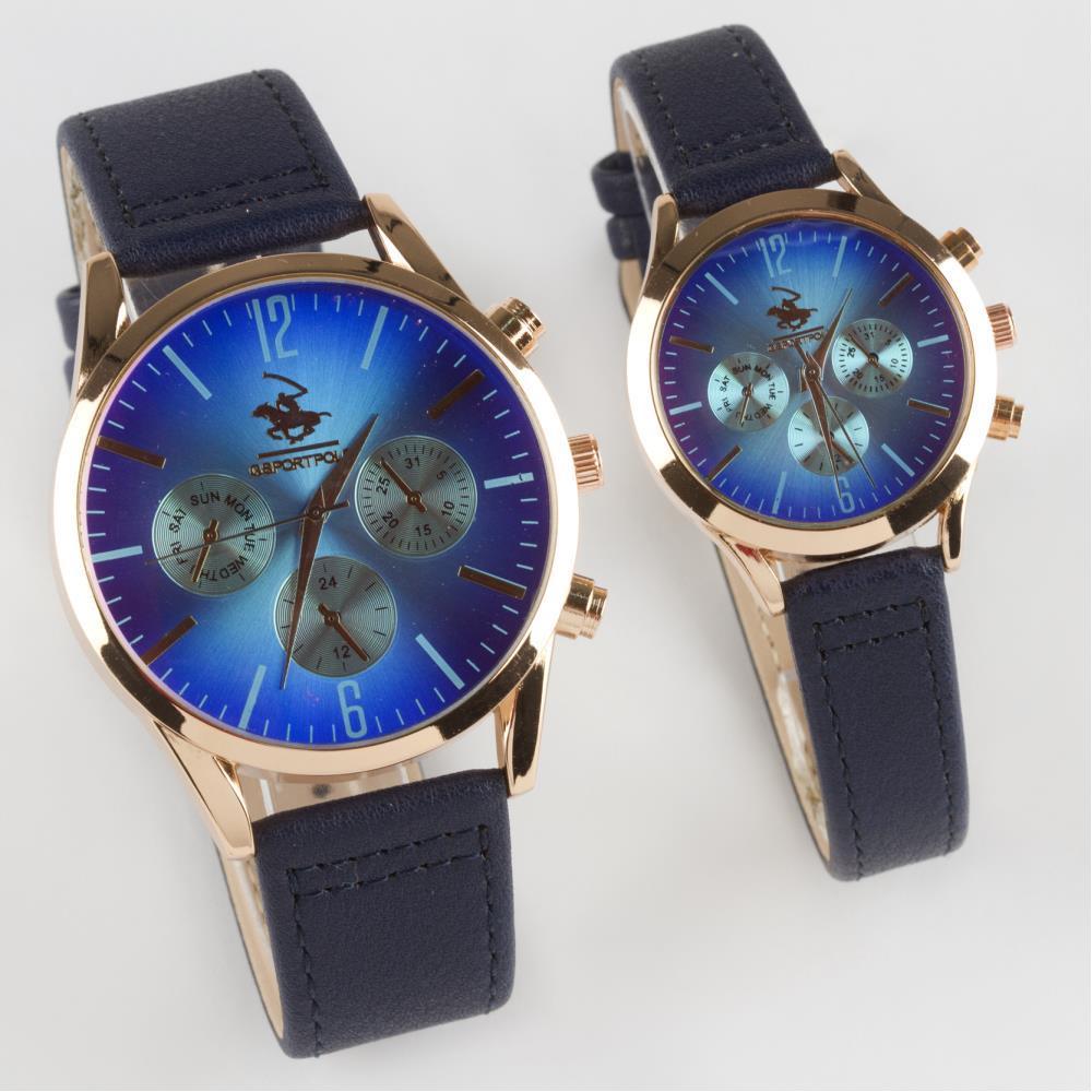 Kayışlı Çift Kol Saati ( Sevgili Saati)