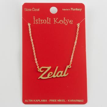 Zelal İsimli Kolye