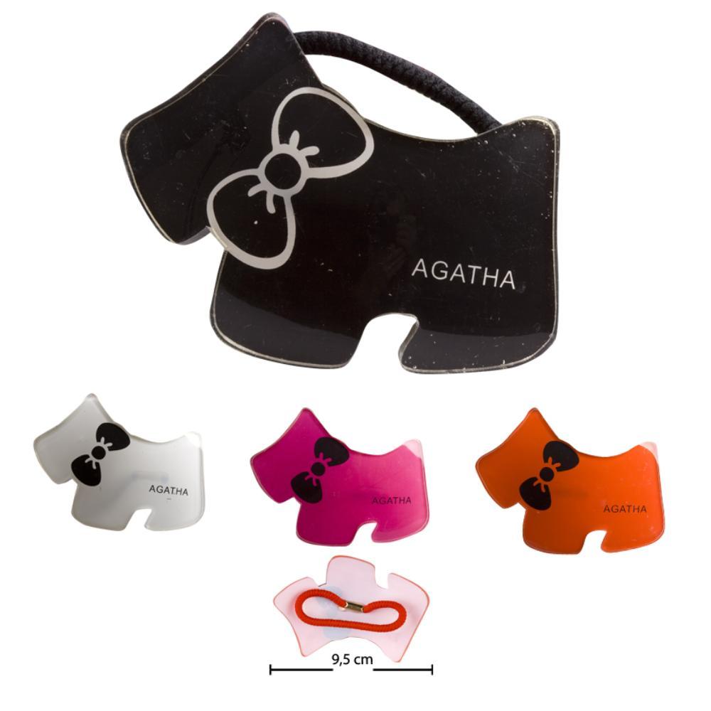 Plastik Agatha Lastikli Toka