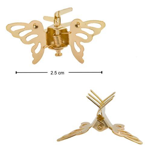 Kelebek Figürlü Metal Toka