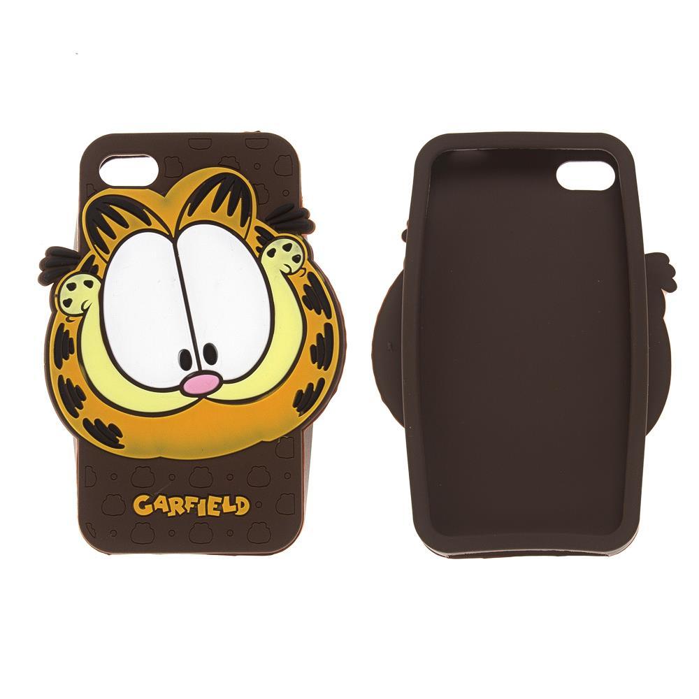 iPhone 4 / 4s Garfield Silikon Kılıf