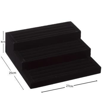 3 Basamaklı Anfora Kumaş Merdiven Yastıklı Sosisli Stand