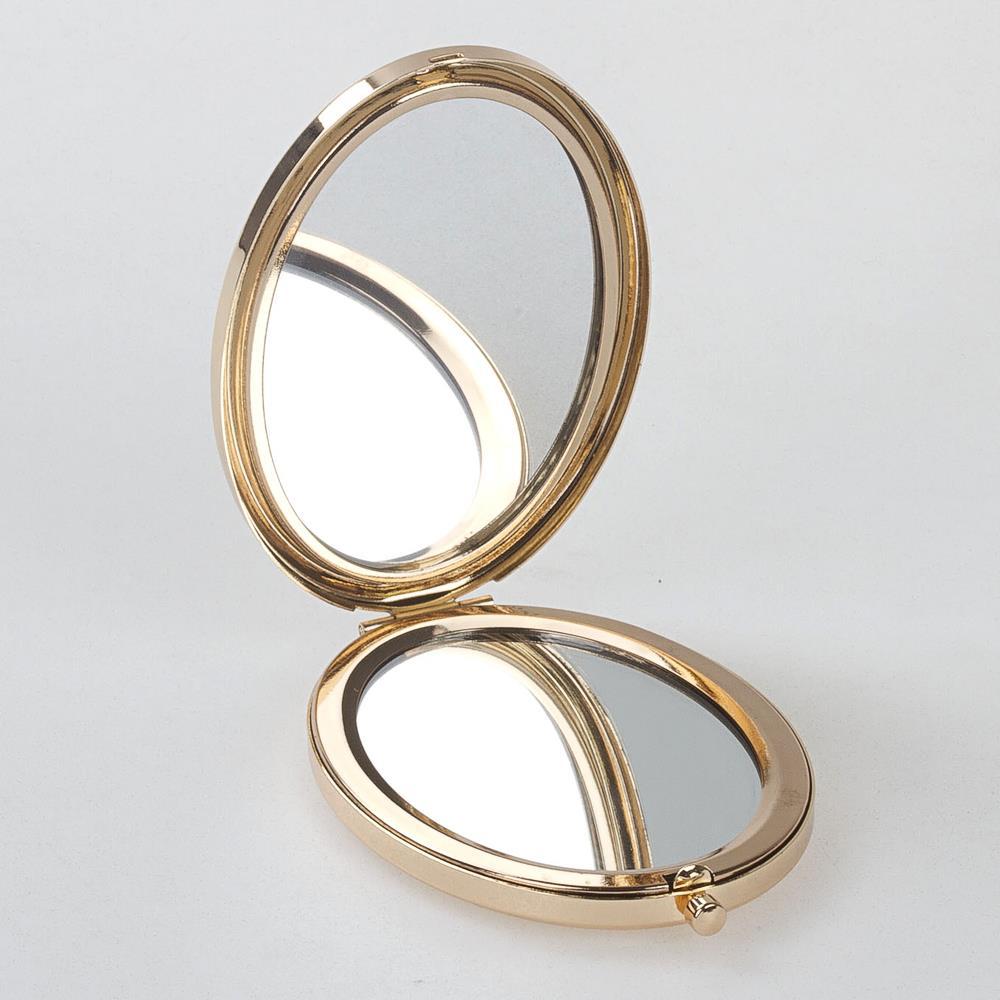 Oval Desenli Lüx Ayna
